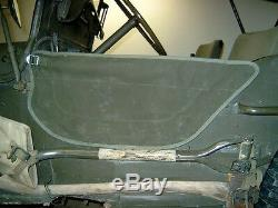 Jeep MB Willy, Ford Gpw, Türplanen, 2 Pièces, 2. Variante, Fixe À Türgurt