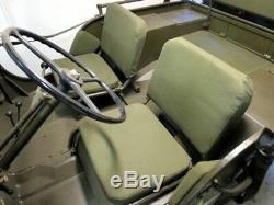 Jeep MB Willy, Ford Gpw, Willy's Jeep Ma, Sitzpolsterset Für Die Vordersitze