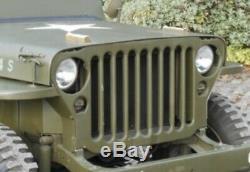 Jeep Willys Ford Gpw Cj2 Phares