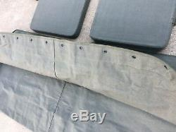 Jeep Willys MB Ford Gpw Canvas Top + Coussin G-503