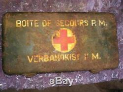 Jeep Willys MB Ford Gpw Ww2 G503 First Aid Box