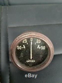 Jeep Willys MB Ford Gpw Ww2 G503 Gauge Amp Longue Aiguille Bon État De Fonctionnement