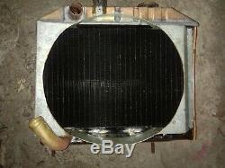 Jeep Willys MB Ford Gpw Ww2 G503 Originale Radiateur Avec Ventilateur Gardien Reproduire