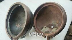 Jeep Willys MB Ford Gpw Ww2 G503 Script Original F Phare Backed Set