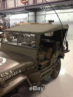 Jeep Willys Mb, Ford Gpw, Sommerverdeck De U Originale. S. S. Tissu, Top