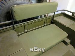 Jeep Willys Mb, Ford Gpw, Willy Jeep Ma, Sitzpolsterset De U. S. Toile Tela