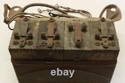 L'originale Ford Fordson Tractor Modèle T Bobine D'allumage Buzz Box De 1920 Avec 4 Bobines