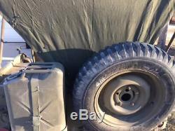 MB Gpw G503 Jeep Willys Haut Été Toile M38 Avec Sac De Rangement 1941-1948