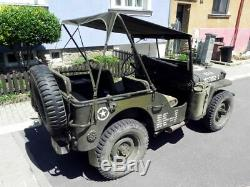 Maillot De Bikini Ford Gpw Willys Jeep MB Jeepverdeck En Kaki, Bikini Verdeck