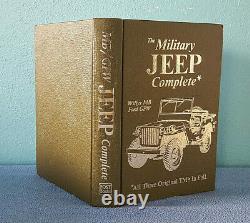 Manuels Complets Jeep Militaire, Willys MB / Ford Gpw Tous Les 3 Tm Original En Entier