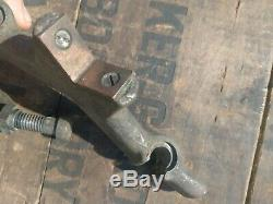 Moore Vintage Estampage Réversible Machiniste Pince Vise Spécialité Jig Outil