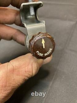Nos 1930s 1940s Lighted Accessory Under Dash Fog Back-up Light Switch 12v Bomb