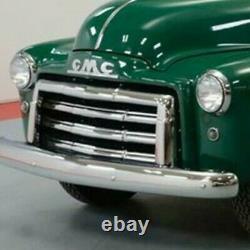Nos 1947 1948 1949 Gmc Camion 1/2 Et 3/4 Ton Grill Assemblage 3 Barres Oem Gm