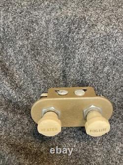 Nos Fog Light Heater Switch Accessory Bomb Chevrolet Ford Dodge 1940s 1950s Og