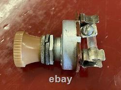 Nos Fog Light Switch Accessoire Vintage Cole Dashboard Lamp Lite Knob