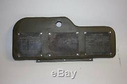Plaques De Données D'origine Jeep Ford Gpw 1942 1943