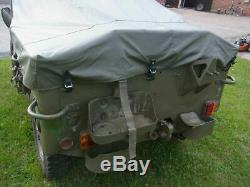 Pluie De Couverture Willys Jeep MB Persenning Regenverdeck Ford Gpw Hotchkiss