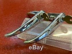 Poignée Extérieure De Fermeture Des Portes De 1940 1930 Set Fileté Shaft