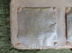 Porte De Boîte À Gants Jeep Ford Gpw 1942 Avec Plaques Signalétiques