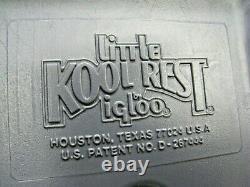Porte-gobelets Vintage Igloo Little Kool Rest Car Ou Truck Console Cooler Accessory Cup