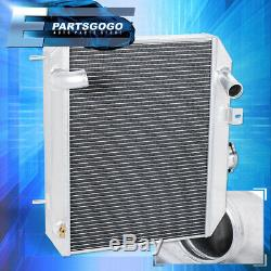Pour 41-52 Ford Gpw / Jeep Willys MB Camion Tri-core / Row Racing En Aluminium Radiateur