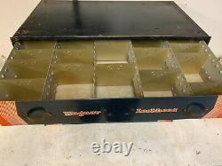 Rare Wagner Lockheed Pièces D'outils 3 Tiroirs Boîte Cabinet Plateau Original 1020