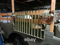 Repro Slat Grill / Head Light Guards Jeep Willys MB Ford Gpw Post Ww2 Hotchkiss