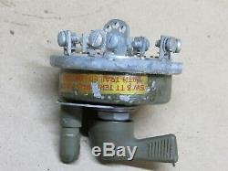 Rotary Light Switch Nos Fin Wwii Jeep Willys MB Fits Ford Gpw (e7)