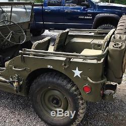 Seconde Guerre Mondiale Willys MB Ford Gpw Armée Jeep Militaire Top Bow Assemblée