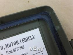 Us Army Trousse De Premiers Soins D'urgence Boîte Verbandkasten Leer Jeep Willys MB Ford Gpw