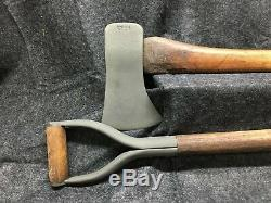 Véhicule Militaire Wwii Us Army Pelle & Set Ax Willys Jeep MB Ford Gpw M151