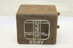 Vintage 1930's Delco Am Radio Speaker Under Dash Assembly United Motors 632 633