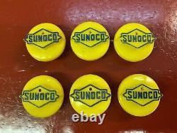 Vintage 1960's 1970 Sonuco Logo Battery Cap Top Cell Couver Gaz Oil Accessoire