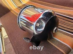 Vintage 1960's Sun 8000 8k Accessoire Colonne Tachomètre Tach Gasser Hot Rod