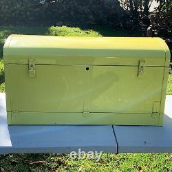 Vintagwe Original 1930 1935 Accessoire Bi-fold 36 Metal Yellow Auto Trunk