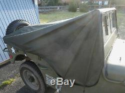 Vorführstück Pluie Cover Jeep Willys Persenning Regenverdeck Ford Gpw Hotchkiss