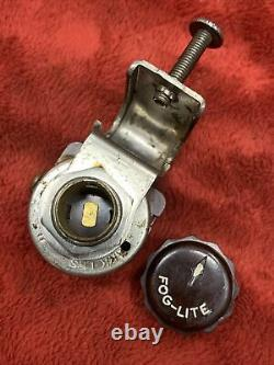 Vtg Années 1930 Années 1940 1950 Ark-les Accessoire Sous Dash Fog Lite Light Switch Og