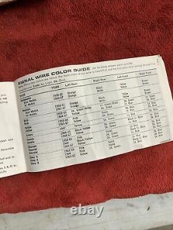 Vtg Années 1950 1960 Nos In Box Yankee 760 12v Hazard 4 Way Flasher Emergency Switch