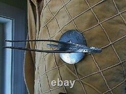 Vtg Studebaker Radiator Cap Hood Ornament 30's 1934 1935 1933 Bird Rat Hot Rod