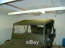 Willy's Jeep MB Jeepverdeck Ford Gpw, Sommerverdeck En Kaki Ou Sandfarben