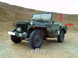 Willy's Jeep Mb, Ford Gpw, Couvercle Arrière, Couvercle Arrière