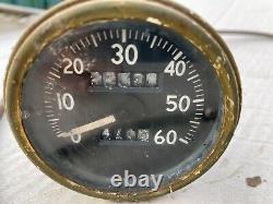 Willys MB Ford Gpw Jeep Ww2 Original Speedometer Et Speedo Câble