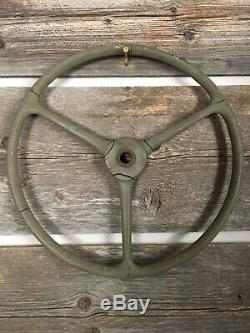 Willys MB Ford Gpw Us Army Jeep Usine Décortiqueur Volant Original Oem Rare