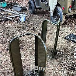 Willys MB Ou Ford Gpw Seconde Guerre Mondiale Armée Jeep Militaire Cadre Du Siège Arrière Fabriqué Aux États-unis