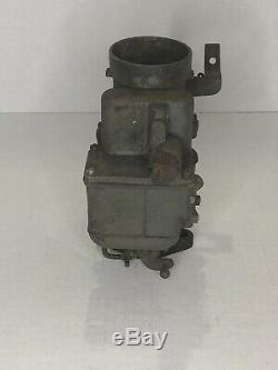 Willys Mb, Ford Gpw, Slat Grill Jeep, Carter Wo Carburateur