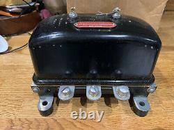Ww2 Autolite 6v Régulateur De Tension, Willys Mb, Ford Gpw, Jeep, Dodge