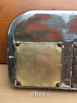 Wwii Jeep Ford Gpw Grivebox Porte Document Historique Papeterie Usine Oem Rare