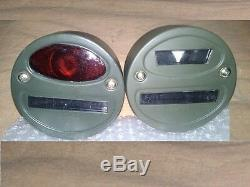 Yankee Blackout Lumière Tail Marker Objectif Seconde Guerre Mondiale Jeep Willys Militaire Ford Gpw